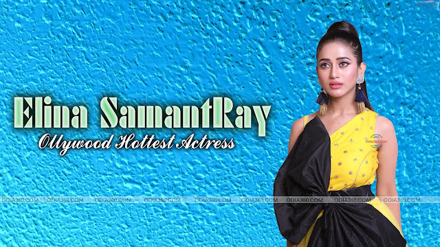 Hot Elina Samantray looks Stunning in yellow outfit HD Wallpaper Download