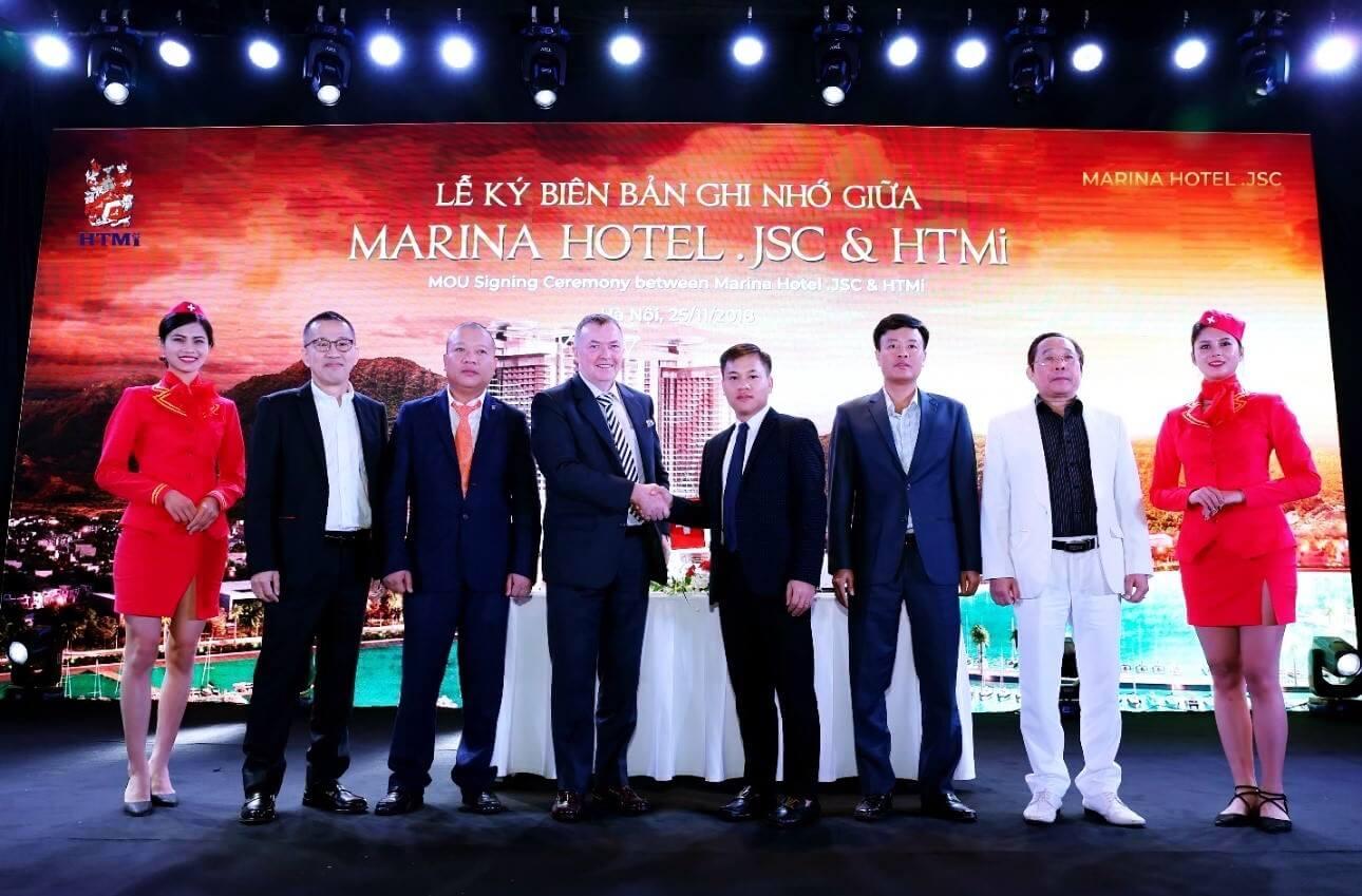 Marina Hotel bắt tay với các đối tác uy tín triển khai dự án La Luna Nha Trang