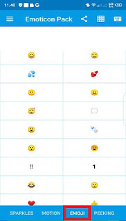 Cara Memberi Emoticon Di Nama Kontak WA Di Hp dengan aplikasi