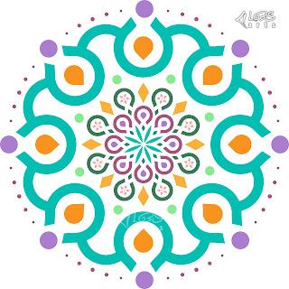 Modern Islamic & Arabic Mandala Vector Pattern