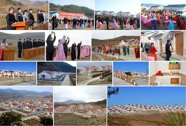 New Houses in Hamgyong Provinces, DPRK