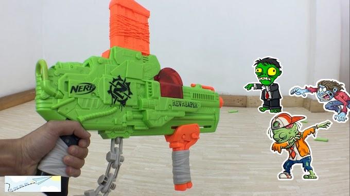 Tổng Hợp Các Mẫu Súng Nerf Zombie Strike Chống Thây Ma Xác Sống Của Mình
