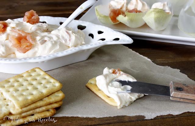 Crema de salmón. Julia y sus recetas