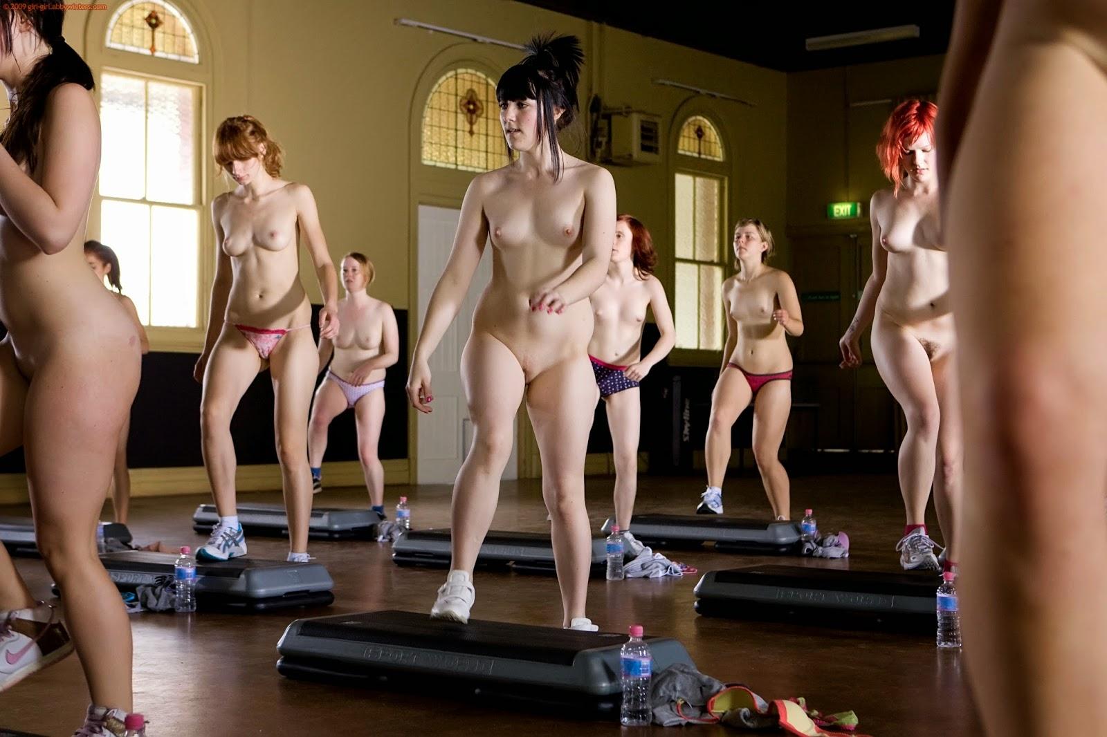 Nude Step Aerobic 48
