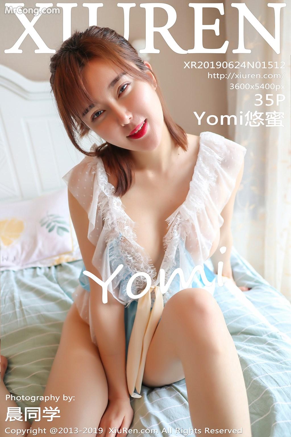 XIUREN No.1512: Yomi悠蜜 (36 ảnh)