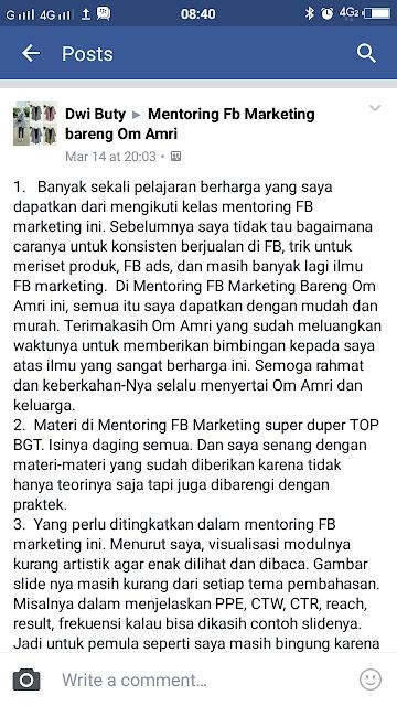 cara membuat iklan di facebook secara gratis