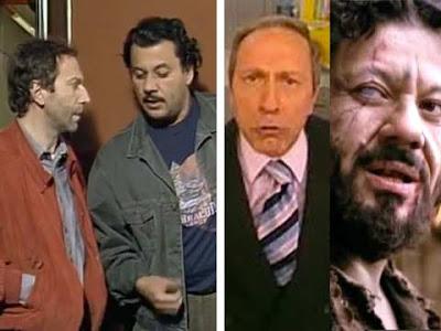 Renato Librandi e Pietro Sarubbi: De Marinis di ''Camera Cafè'' e Barabba de ''La Passione di Cristo''
