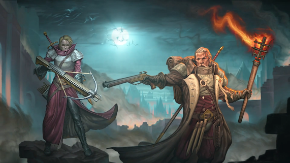 Galen y Doralia, padre e hija, cazadores de brujas