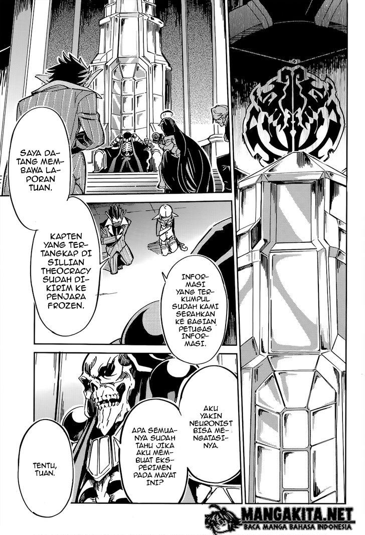 Baca Manga Overlord Chapter 4 Bahasa Indonesia