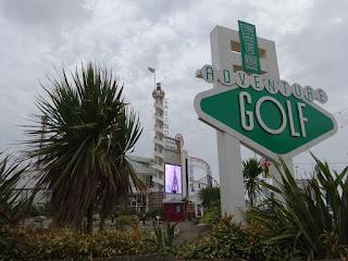 Blackpool Pleasure Beach Adventure Golf