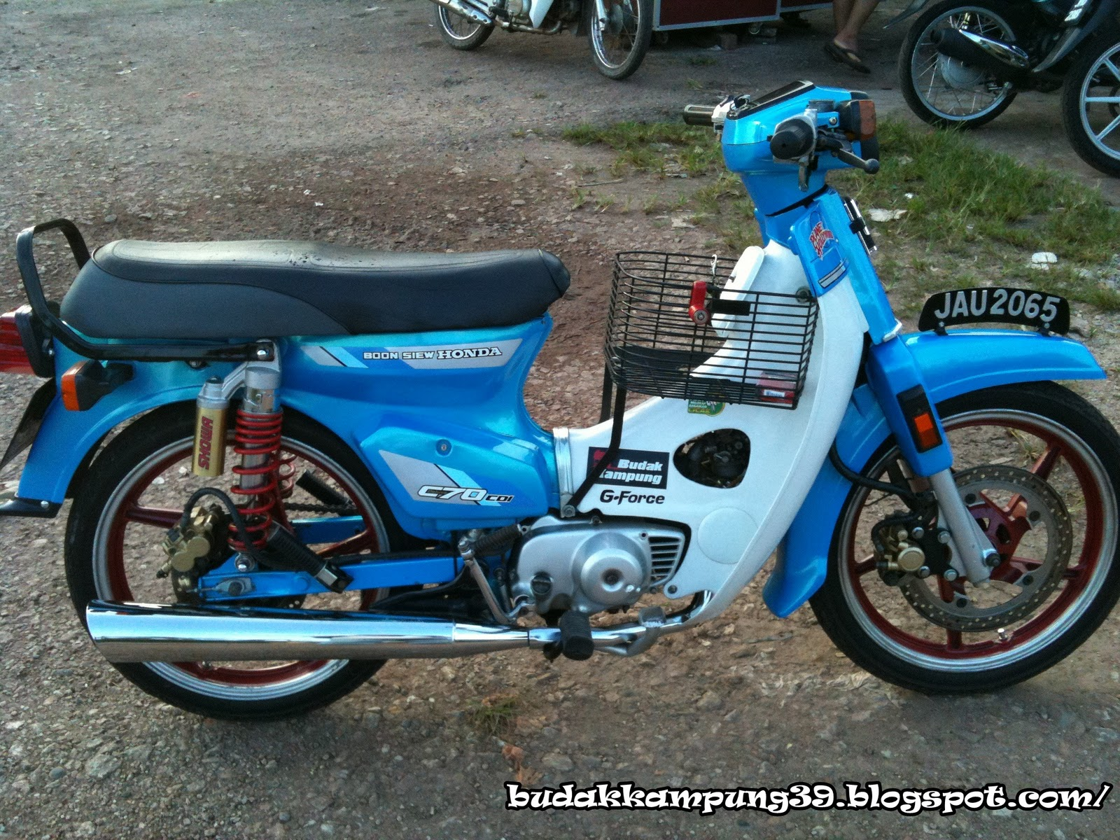 Honda C Modified