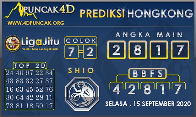 PREDIKSI TOGEL HONGKONG PUNCAK4D 15 SEPTEMBER 2020