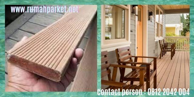 jenis Lantai Kayu Solid Outdoor - decking kayu ulin