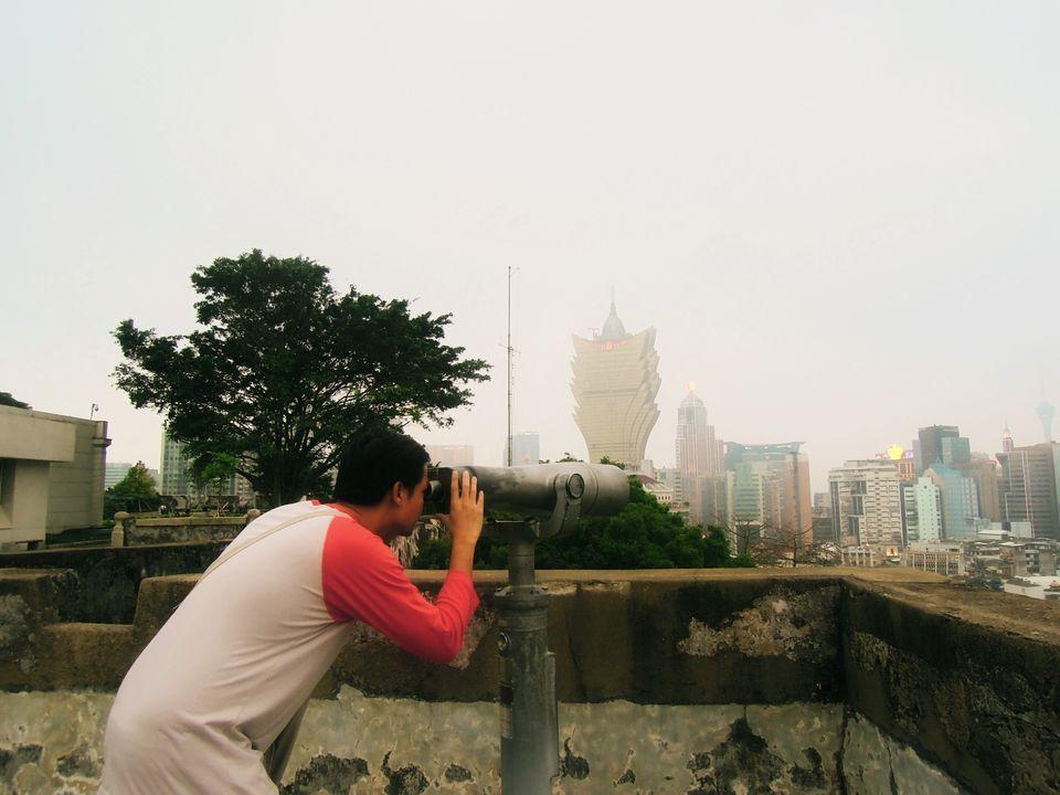 Telescope at Fortaleza do Monte