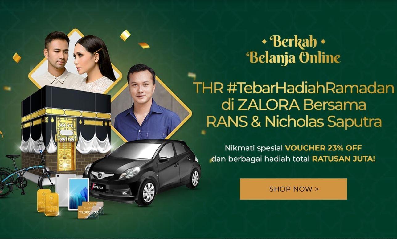 Zalora Tebar Hadiah Ramadan dan Promo Berkah Belanja Online