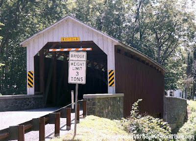 Siegrist's Mill Covered Bridge in Lancaster County, Pennsylvania