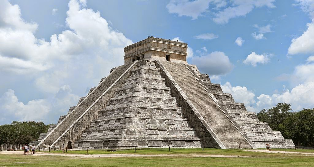 "EL CASTILLO (THE CHICHEN ITZA) ""MEXICO"""