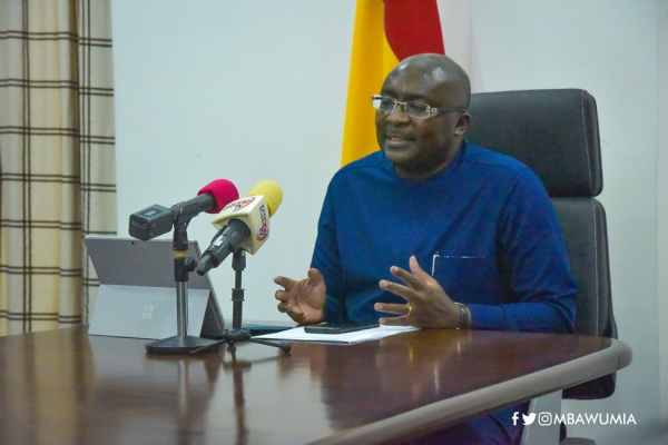 Data Is One Of Our Most Powerful Weapons In Our Fight Against COVID-19 - VP Bawumia