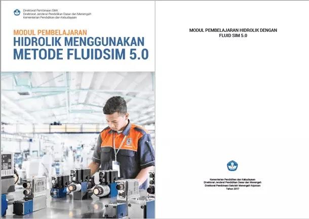 Buku SMK Teknik Otomasi Modul Pembelajaran Hidrolik Menggunakan Metode Fluidsim 5.0