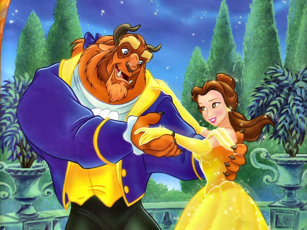 Beauty And The Beast Cartoon Wallpaper: Imagenes De Dibujos Animados: La Bella Y La Bestia