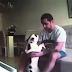 Su perro actuaba de modo extraño cuando su novio estaba cerca por lo que puso esta cámara oculta...