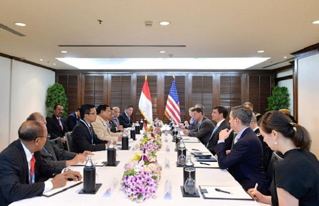 Indonesia-US Agree to Enhance Defense Cooperation