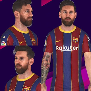 Images - PES 2017 Lionel Messi New Face + Tattoo