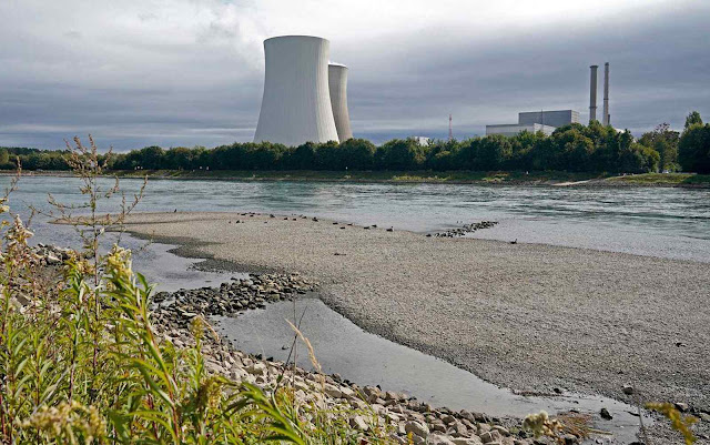 A usina nuclear de Philippsburg já foi fechada. A última dessas plantas fechará em  2022