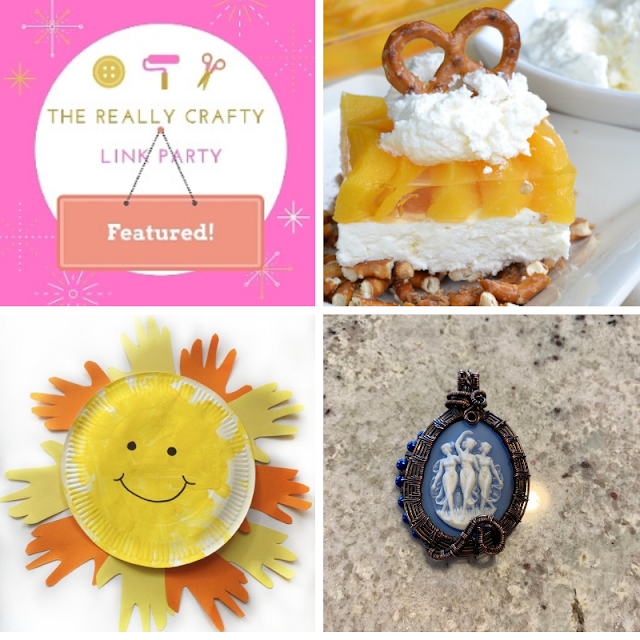 The Really Crafty Link Party #174 featured posts
