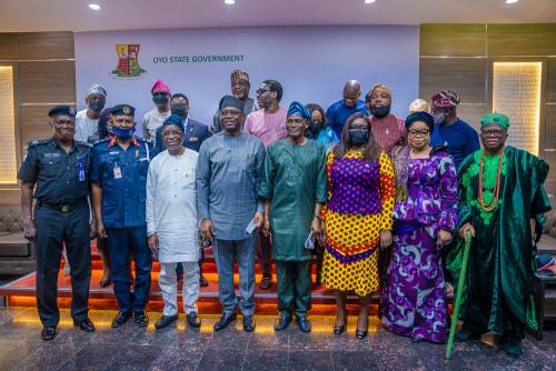 Photos: Makinde inaugurates Amotekun Governing Body