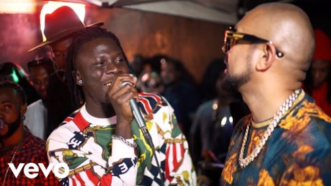 Stonebwoy is the only non-Jamaican artist on Sean Paul's 7th album