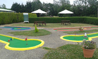 Crazy Golf in Luton at Tea Green Golf
