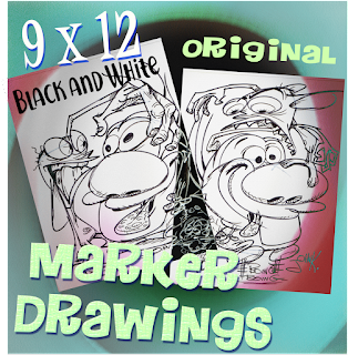 Original Line Drawings For Your Collection