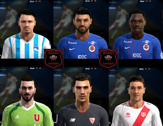 Faces: Lapadula, Ben youssef, Makengo, Johnny Herrera, Sergio Rico, Embarba, Pes 2013