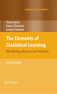 The Elements of Statistical Learning: Data Mining, Inference, etc