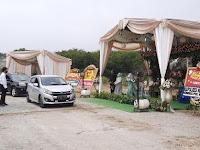 Mantab Jiwa, Pasangan di Bekasi Gelar Resepsi Meriah Model Baru Drive Thru, Bisa Undang Ribuan Tamu Hadir Tanpa Perlu Turun dari Mobil