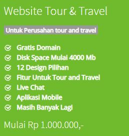 Website Tour & Travel
