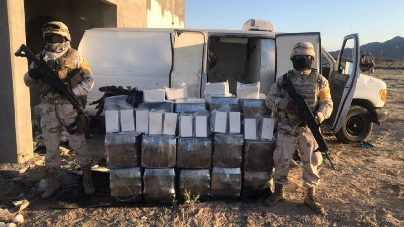 Golpe al Narco no Coronaron: SEDENA Decomisan un poco más de 256 millones de pesos en droga