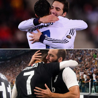 "Higuain on Ronaldo: ""Many years have passed, and I have found another player, a more mature person, with a family."