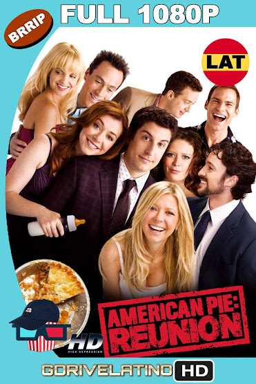 American Pie: El Reencuentro (2012) UNRATED BRRip 1080p Latino-Ingles MKV