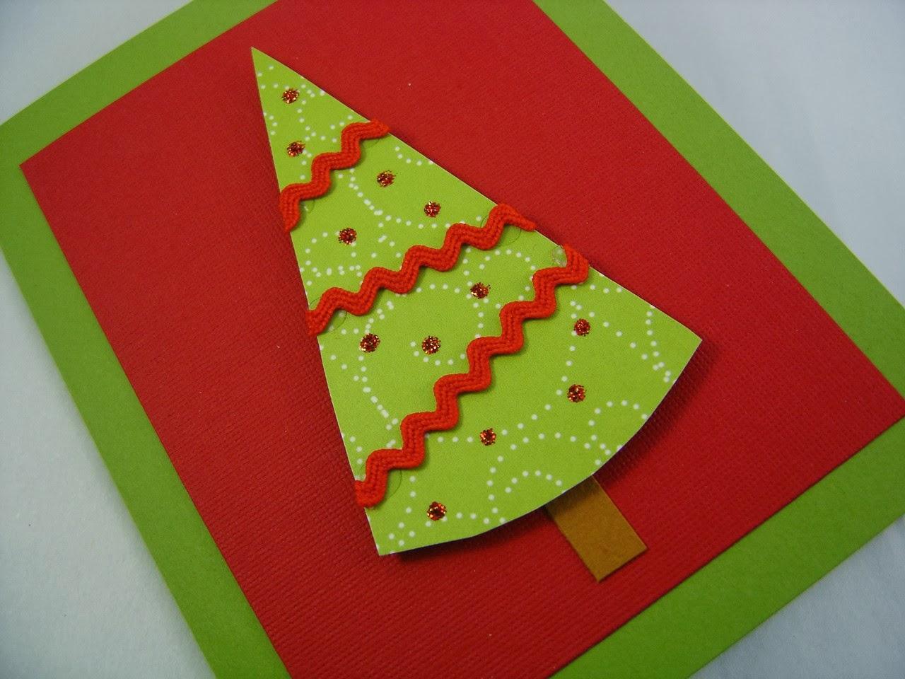wonderland handmade christmas card ideas