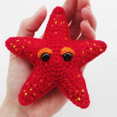 Морская звездочка крючком