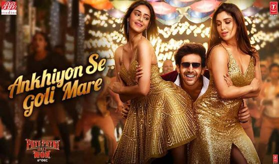 Ankhiyon Se Goli Mare Hindi Song Lyrics | Pati Patni Aur Woh