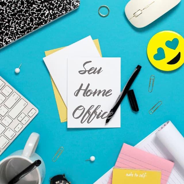seu escritorio em casa