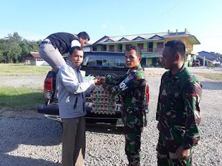 Satgas Yonmek 643/Wns, Amankan Ribuan Telur Ilegal Asal Malaysia dari Jalur Tikus