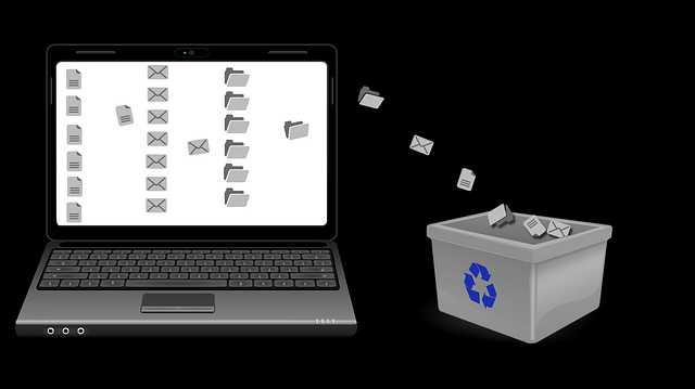 cara bersihkan file sampah tanpa aplikasi
