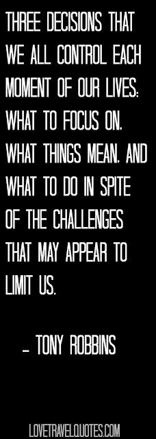 Motivational Tony Robbins Quote