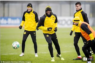Usain Bolt Turns Footballer, Trains With Borrusia Dortmund Team (Photos)