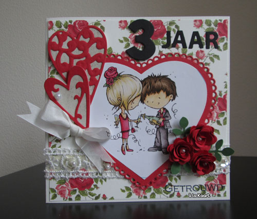 3 jaar getrouwd à la Kaart Blog: 3 jaar getrouwd 3 jaar getrouwd