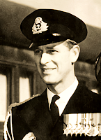 Prince Philip in Canada - 1951
